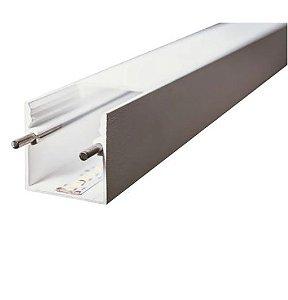 Perfil Sobrepor Linear Linha Polo 32x750x32mm Usina 30690/75