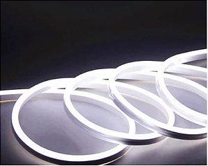 Fita Led Neon Silicone 12V 7.4W IP68 1 Metro Cor Branco Frio Alpertone 0148BF