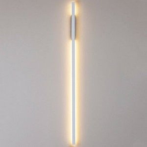 Arandela LED Fit Linear Metal e Acrílico 3000K 32W Bivolt 114x2,5x6,1cm Newline 657LED3