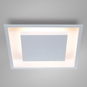 Painel Embutir Eclipse Quadrado Alumínio 50x50x7,8cm 8xG9 Itamonte Nac 2041/50 G9