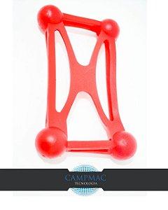 Capa de Celular Bumper Universal – Vermelho