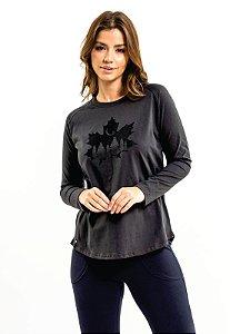 T-Shirt Maple Leaf Oversized Chumbo
