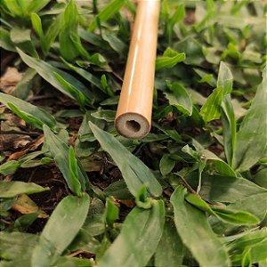 Canudo de bambu + escova higiênica