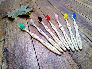 Escova Dental de Bambu Adulto