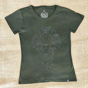 Camiseta Feminina - Leão