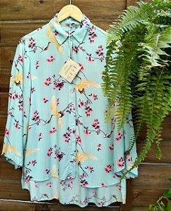 Camisa Kimono Cerejeiras - Tamanho M