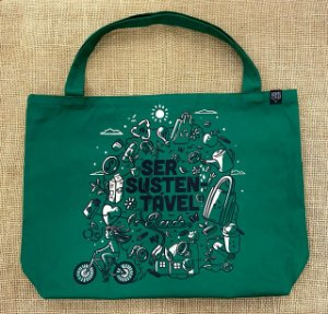 Ecobag Moeda Verde