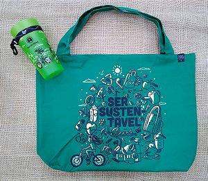 Moeda Verde - Ecobag + Copo (com alça)