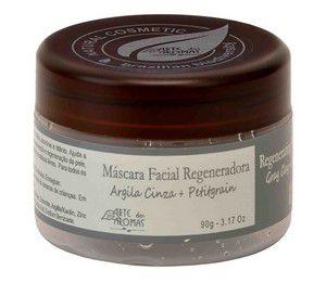 Máscara  Facial Regeneradora - Argila Cinza  -