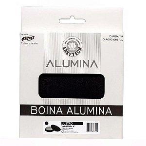 """Boina Alumina Lustro Preta 165mm 6"""" - Easytech"""