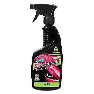 Vitrificador Cera Protelim Coating Ceramic Spray Carros Escuros (600ml)