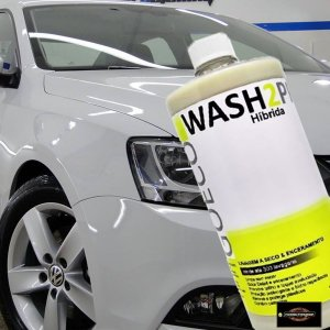 Cera Wash2 Pro Híbrida Carnaúba e Sintética 1l