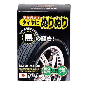Super Preto para Pneus, O Melhor Pretinho 150ml Black Magic - Soft99