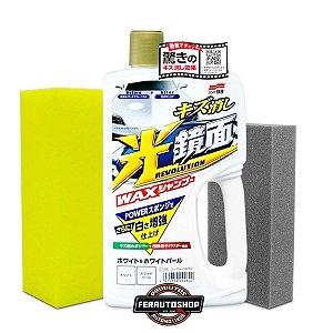 Shampoo White Gloss, Preenchedor de Micro-Riscos - Carros de cores Claras 700ml - Soft99