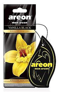 Aromatizante Seco Vanilla Black - Baunilha - Areon