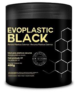 Revitalizador de Plásticos Externos Evoplastic Black 400g - Evox
