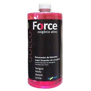 Force - Removedor De Manchas Com Oxigênio Ativo 1l - Go Eco Wash
