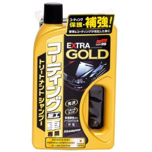 Shampoo Para Superfícies Vitrificadas Extra Gold 750ml - Soft99