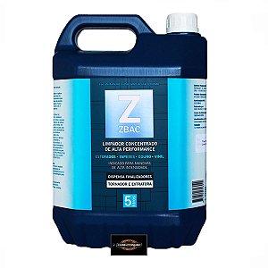 Zbac Bactericida Alvejante e Finalizador 5L - Para uso em Extratoras - Easytech