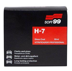 Vitrificador de Pintura 50ml 3 Anos de Proteção H7 - Soft99