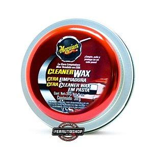 Cera Cleaner Wax (Pasta) - Limpeza, Proteção e Brilho - 311g - Meguiars