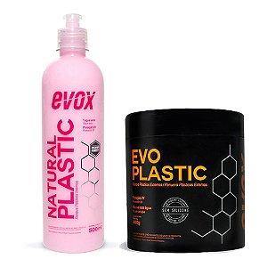 Kit Restaurador de Plásticos Interno e Externo - Evox