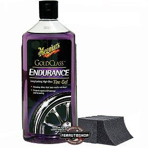 Kit Super Pretinho para Pneus, Endurance Tire Dressing 473ml + Aplicador