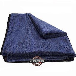 Toalha de Secagem de Alta Absorção Azul 47x87 - Mandala