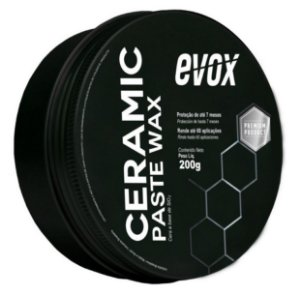 Cera a base de SiO2 Ceramic Paste Wax 200g - Evox