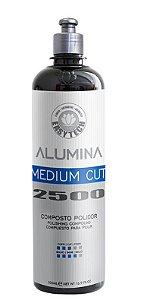 Alumina Medium Cut 2500 Composto Polidor Refino 500ml - Easytech