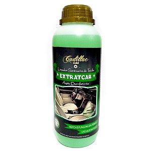 Limpa Estofados Extratcar 1L - Com Ação Bactericida e Fungicida - Cadillac