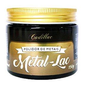 Metal Lac Polidor de Metais 150g - Cadillac