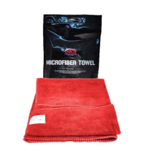 Toalha de Microfibra Vermelha Super Lustro 40cm x 60cm 400g - SGCB