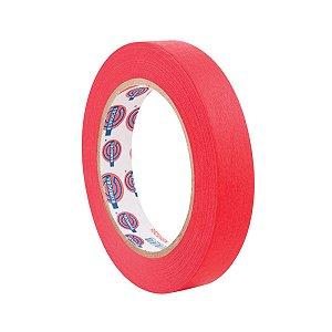 Fita Crepe Eurocel Performance Vermelha 18x50mm