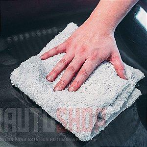 Toalha de Microfibra Felpuda DB Towel 500Gsm 40x40 - Cinza