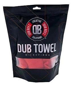Toalha de Microfibra Super Lustro Dub Boyz Towel 400Gsm 40x60 - Vermelha