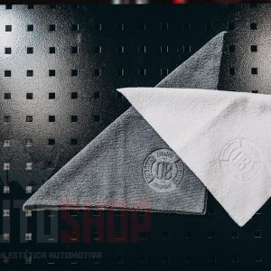 Toalha de Microfibra DB Towel para Coating 300gsm 30x30 - Cinza