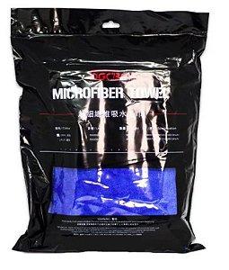 Toalha de Secagem Microfibra Azul 400G - 60x160cm Sgcb