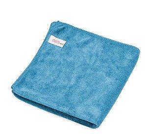 Toalha de Microfibra Azul Microfiber Towel 40x40 400gsm - SGCB