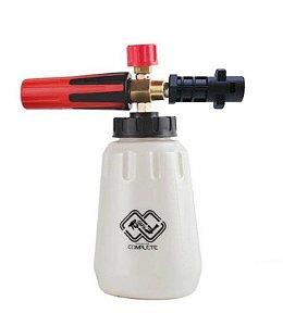 Canhão de Espuma Snow Foam 1000ml Sgcb + Adaptador P/ Lavadora Karcher K1 K2 K3 K4 K5