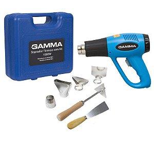 Soprador Térmico Com Maleta e Accessórios Gamma Ferramentas