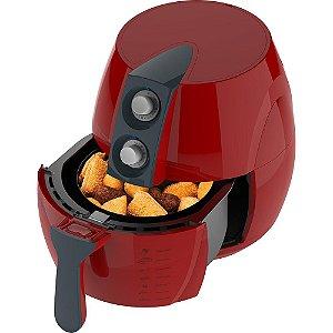 Fritadeira Sem Óleo Cadence Perfect Fryer Colors Vermelha