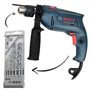 Furadeira De Impacto Gsb 550 Re 127v 550w Bosch Professional