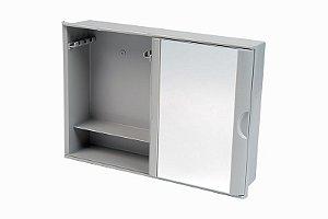 Armário Plástico com Porta de Correr Para Banheiro Astra