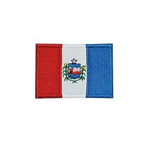 Patch Bordado Bandeira de Alagoas AL 34180