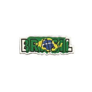 Patch Bordado Brasil Escrito 1.341.264