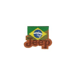 Patch Bordado  Jeep Brasil 1.341.24