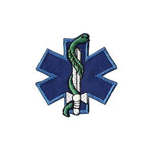 Patch Bordado Resgate Azul 1.341.12