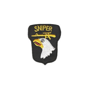 Patch Bordado Sniper Águia