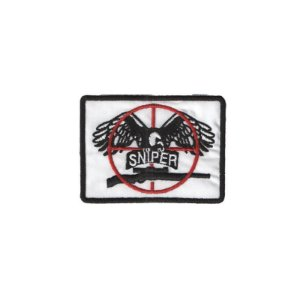 Patch Bordado Termocolante Sniper Army
